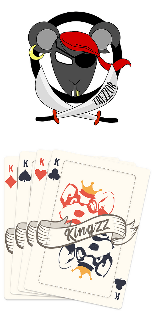 Logos des TreZZors et des KingZZ