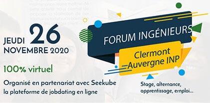 Forum Entreprise ISIMA 2020