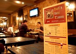 Hall-s beer tavern